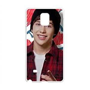 Pop Singer Austin Mahone Cell Phone Case for Samsung Galaxy Note4