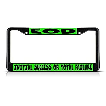 License Plate Frame Aluminum License Plate Cover for US and Canada Vehicle 2 Holes and Screws