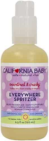 California Baby Everywhere Spritzer - Overtired & Cranky - 6.5 oz