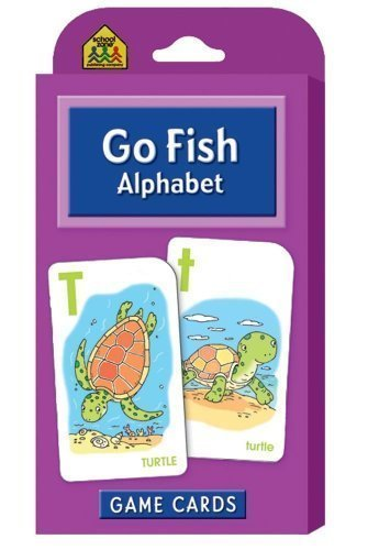 Go Fish Game Cards by School Zone Publishing Company Staff Game Cards (1999) Cards