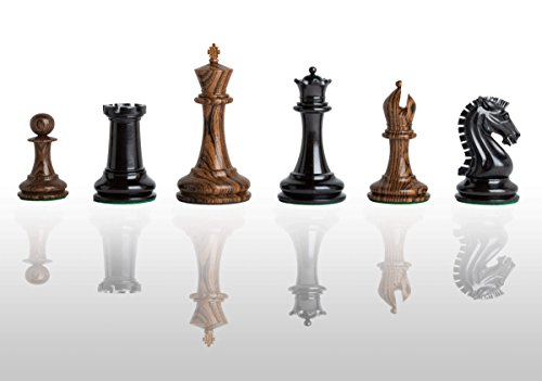 The House of Staunton - The Camaratta Signature Cooke Luxury Chess Set - Pieces Only - 3.625