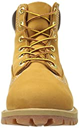 Timberland 6-Inch Premium Waterproof Boot (Toddler/Little Kid/Big Kid),Wheat Nubuck,7 M US Big Kid