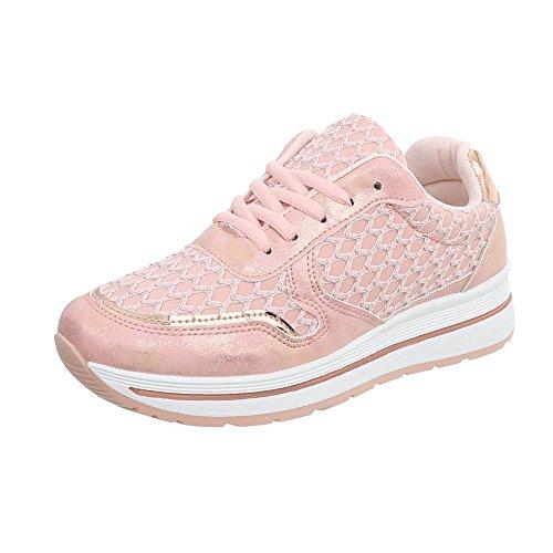 Mode Compensé design Pp Ital Rose 23 Baskets Espadrilles Sneakers Low Chaussures Femme TxXIdvwqI