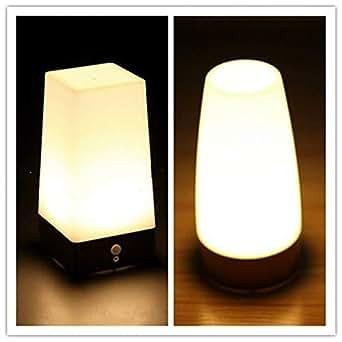 Sensor de movimiento de la lámpara de la cama de la mesa de ...
