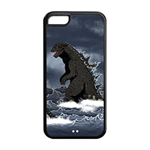 Custom Your Own Unique Godzilla iPhone 5C Cover Snap on Godzilla iPhone 5C Case by runtopwell