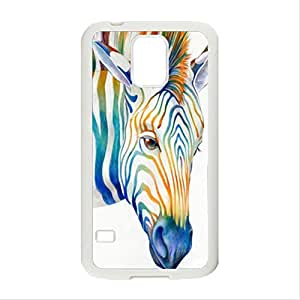 Animal Art Illustration Pattern HD Durable Hard Plastic Case Cover for Samsung Galaxy S5