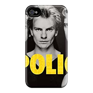 DannyLCHEUNG Iphone 4/4s Protector Cell-phone Hard Cover Allow Personal Design Attractive Rolling Stones Pictures [vHl10199WFlj]