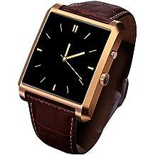2016 Bluetooth Smart Watch Fashion Wrist Smartwatch Men Wristwatch Wearable Digital Device for IOS Samsung Huawei