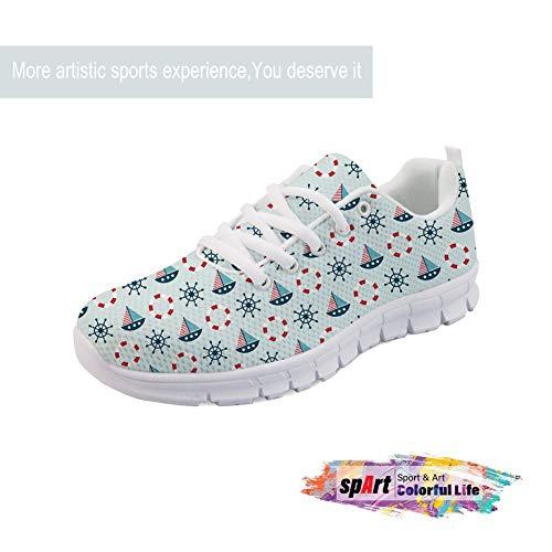 Outdoor Spart Casual Running Estiva Scarpe Sportive Donna Da Multisport  Ginnastica Vela Corsa All aperto Sneakers Fitness Shoes AqR1zA 351da9bede2