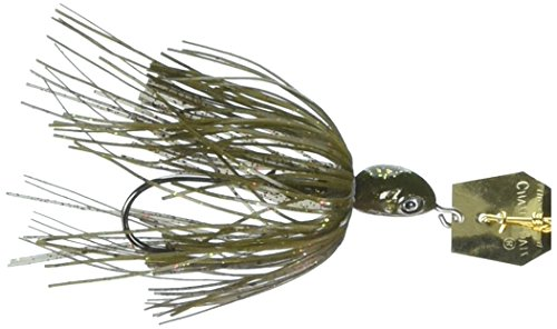 Z-Man Project Z Chatterbait Spinnerbaits, Houdini Gold, 1/2 oz