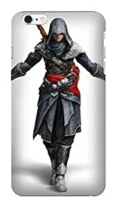 2014 New Style Popular Assassin's Creed fashionable pictures Print Design for iphone 4 4s TPU Hard Plastic Case