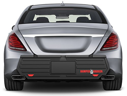 BumperBadger HD EDITION - 2016 New Design - The #1 Rear Bumper Protector and Rear Bumper Guard For Outdoor Street Parking ()