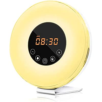 dostyle-wake-up-light-alarm-clock