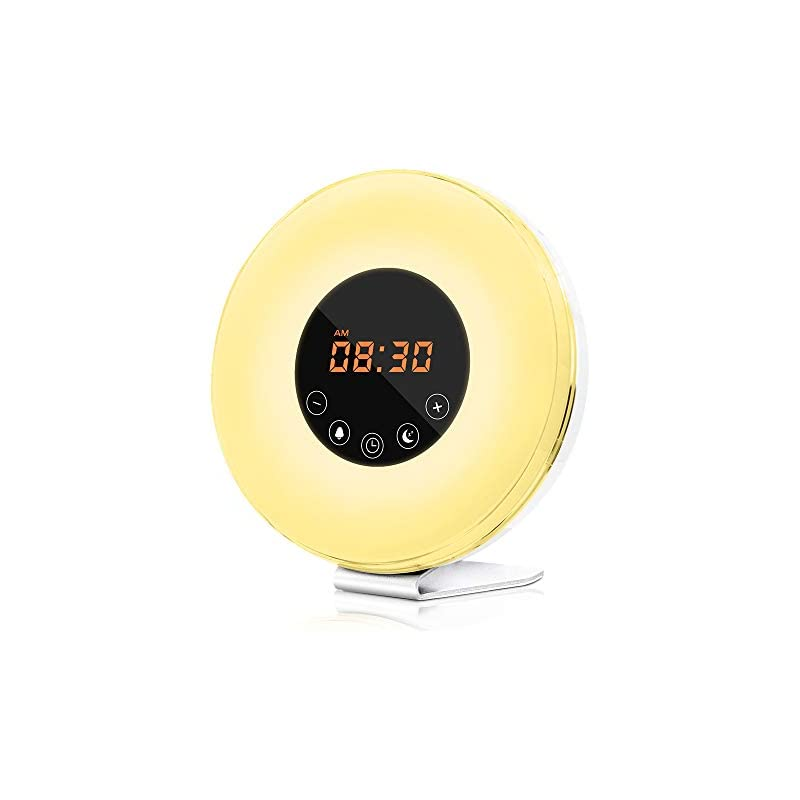 dostyle Wake Up Light Alarm Clock with S