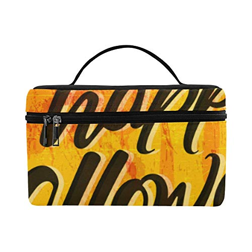 Black Spiders And Broken Webs Pattern Lunch Box Tote Bag Lunch Holder Insulated Lunch Cooler Bag For Women/men/picnic/boating/beach/fishing/school/work]()