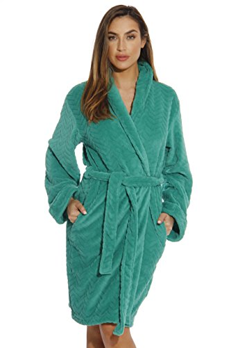 (Just Love 6312-Emerald-M Kimono Robe/Bath Robes for Women)