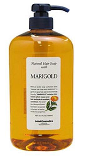 Takara Belmont Lebel | Shampoo | Natural Hair Soap with Marigold 1000ml (Japan (Spf 15 Scalp Treatment)