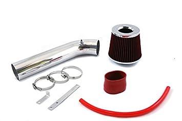 Velocity Concepts Black Short Ram Air Intake Kit + Filter 92-95 For Honda Civic CX DX LX EX del Sol