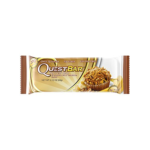Quest Nutrition Banana Nut Muffin Gluten Free - Natural Nut Be Bars