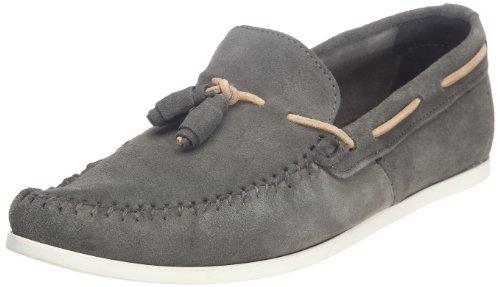 Shoes London Base Gris Mens On Slip Suede Boat Joplin dz4Sw4qx0