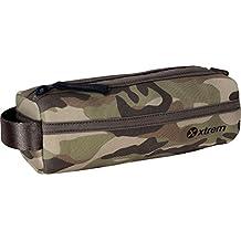 Estojo Xtrem School 842 Pencil Box Camouflage Green