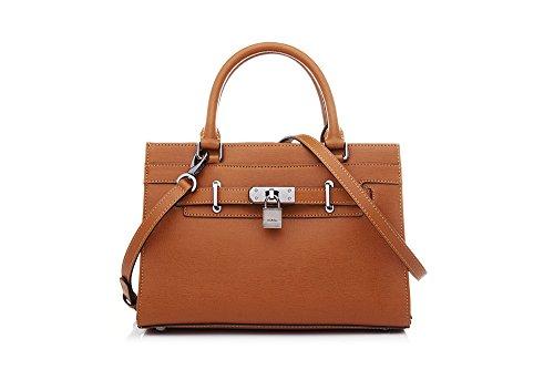 bonia-womens-calf-leather-posh-satchel-one-size-brown