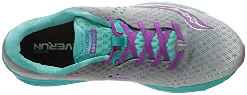 Gris Femme Verte Kinvara Saucony Chaussures De Compétition 8 Running 40awB
