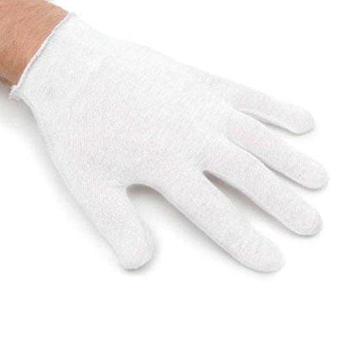 CK Products XLホワイトコットン手袋 – 1ペア B077T6NNRZ
