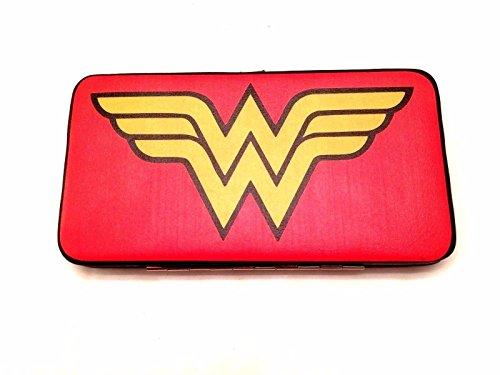 Top 15 buckle down clutch wallet - Harley Quinn - Batman - wonder woman more (Wonder Woman Clutch - Woman Clutch Wonder