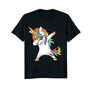 Dabbing Unicorn Shirt - Funny Unicorn Dab Tshirt Gift
