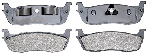 Car Lincoln Disc Brake Town (ACDelco 14D711M Advantage Semi-Metallic Rear Disc Brake Pad Set)