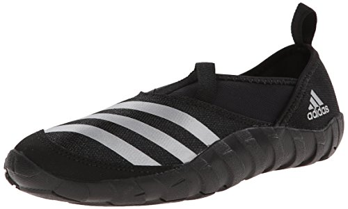 adidas Outdoor Kids' Jawpaw Water Shoe, black/Silver MET/black, 2 M US Little Kid