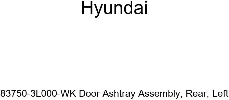 Rear Genuine Hyundai 83750-3L000-WK Door Ashtray Assembly Left