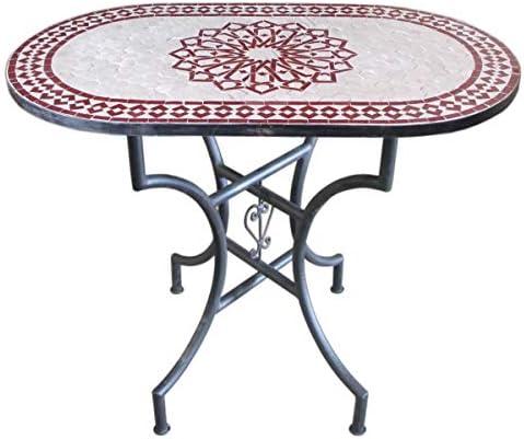 Saharashop Oriental Table de mosaïque en Forme d\'étoile ...