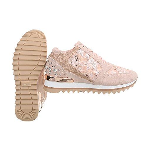 High G 123 Sneakers Ital Compensé Altrosa design Chaussures Femme Mode Baskets Espadrilles 77ZSRq