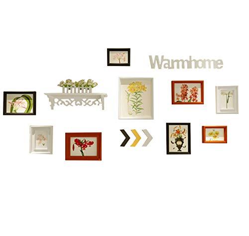 Amazon.com: HCJZPQ - Marco de fotos para pared, diseño con ...