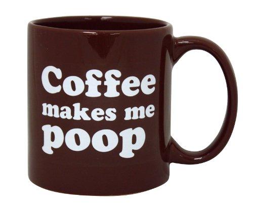 Island Dogs Coffee Makes Me Poop Mug