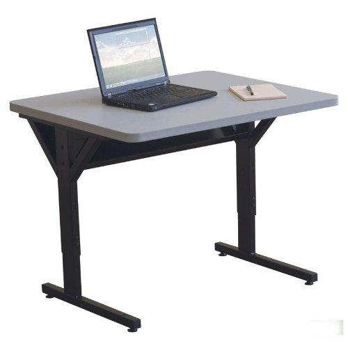 Brawny Table 30''X60'' Gray by Generic
