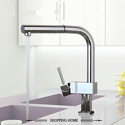 CZOOR De neue 360 gedreht Küche Wasserhahn Wasserhahn Herausziehen mit Waschbecken tippen Sie auf modernen Wasser Mischbatterie Wasserhahn