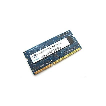 1 GB de memoria RAM para ordenador portátil, Nanya NT1GC64BH4B0PS-CG SODIMM, DDR3