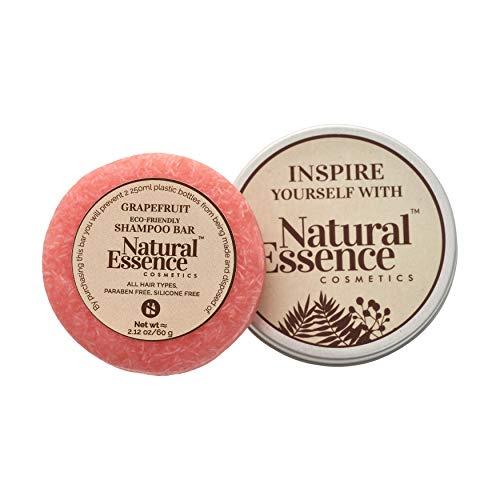 Eco-Friendly Hair Shampoo Bar - Sustainable Solid Shampoo Bar for Normal Oily Hair Grapefruit Shampoo Bar for Sensitive Scalp 2.12 oz.