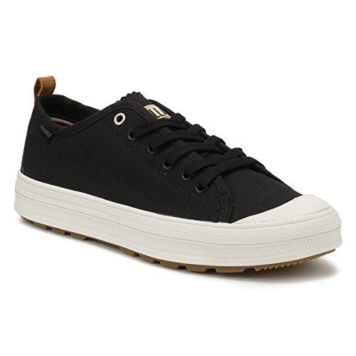 Palladium Bianco Uomo Lily Sneaker Sub Low Nero Canvas 0grT0w