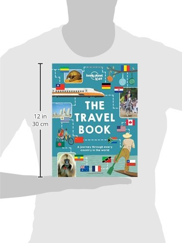 41REw7woZNL - The Travel Book: A journey through every country in the world (Lonely Planet Kids)