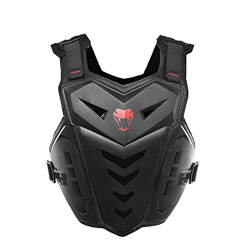 HEROBIKER Motorcycle Armor Vest Motorcycle Riding Chest Armor Back Protector Armor Motocross Off-Road Racing - Armor Body Chest