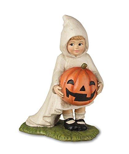 Bethany Lowe Pumpkin (Bethany Lowe TD7628 Halloween Little Ghost Gabby With Pumpkin 2018)
