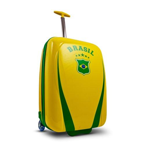 Heys - Core XCase Nations Brasilien Trolley Klein