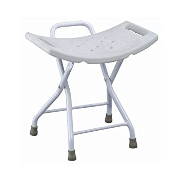 Amazon.com: MedMobile Folding Shower Chair with Handles and ...