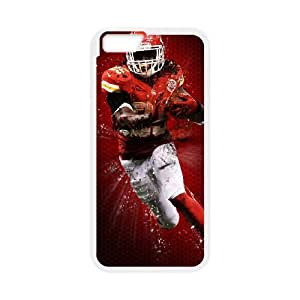 Kansas City Chiefs iPhone 6 Plus 5.5 Inch Cell Phone Case White persent zhm004_8573315
