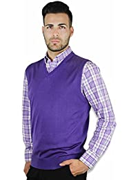 Amazon.com: Purples - Vests / Sweaters: Clothing, Shoes & Jewelry