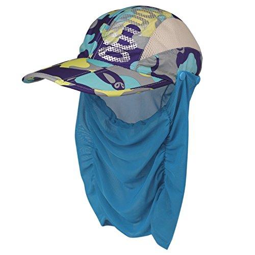 (フレミ) Flammi レディース ランニング キャップ ゴルフ 帽子 フェイスカバー 付き UVカット99% UPF50+